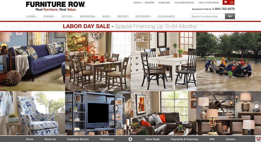 Furniture Row Furniture Row furniturerow feature appzventure HOME furniturerow feature